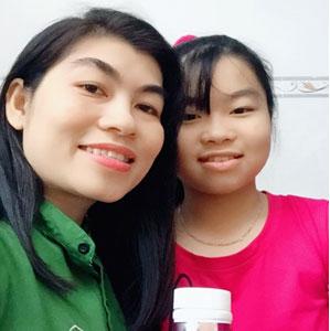 Chị Trương Thị Kim Hoàng
