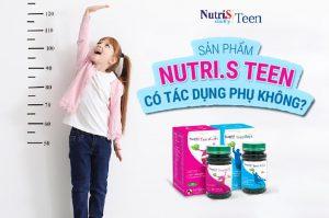 Sản phẩm Nutri.S Teen có tác dụng phụ không?